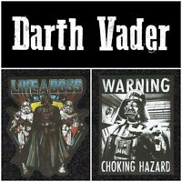 Lot of 6 Darth Vader Vinyl Stickers