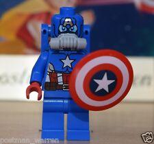 LEGO Minifigure - Space Captain America - Brand New - Genuine LEGO Marvel 76049