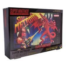Super Nintendo Lampe Super Metroid 30 cm NEU & OVP