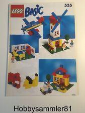 Lego® 535 Bauanleitung Basic Building Set - Grundbaukasten