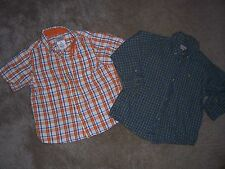 Lot of 2 Boys Arizona Button Front Shirts Size 24 Months