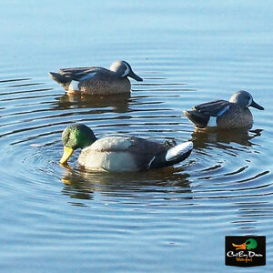 MOJO OUTDOORS RIPPLER DRAKE MALLARD MOTION DUCK DECOY FLOATING RIPPLES