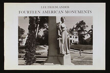 Lee Friedlander Fourteen American Monuments New and Signed