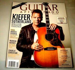 Guitar Aficionado Magazine Vol. 8 # 6 Kiefer Sutherland Lynyrd Skynyrd 2016