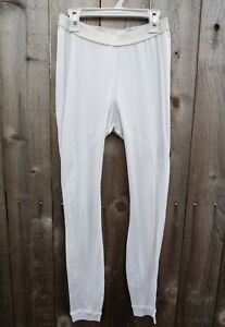 Vintage Patagonia Capilene Base Layer Pants Men's Size Small Made in USA White