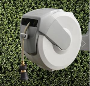Frontgate 100' Retractable hose reel & post (set)