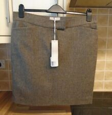 New RRP £129 Anna Lascata Herringbone Wool Skirt 42 16 - or generous 14