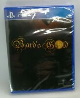 Bard's Gold for PlayStation 4 PS4 BRAND NEW SEALED