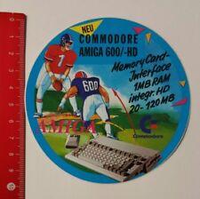 Autocollant/sticker: Commodore Amiga 600/- HD carte mémoire-Interface (06041793)