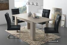 Tavolo allungabile sala da pranzo estensibile soggiorno olmo perla 2 metri