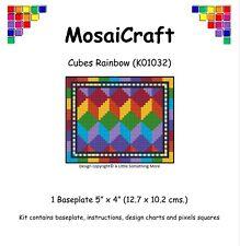 Kit De Arte Mosaico mosaicraft píxel Craft 'Cubos Arco Iris' pixelhobby