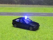 1:87 BMW 323i E46 Compakt Zivil Polizei HO H0 LED 12V Blaulicht Blink Licht #2