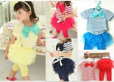 Spandex Casual Outfits & Sets (2-16 Years) for Girls