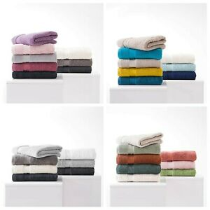 Premium 100% Egyptian Cotton Towels Luxury Soft Hand Towel Wash Mitts 600 GSM