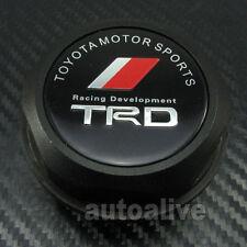 Aluminum Engine TRD Oil Filler Cap Tank Cover for  Toyota Scion Lexus Black