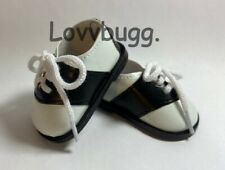 """Perfect Saddle Shoes for American Girl 18"""" Doll Shoes LOVVBUGG TRUE US SELLER 🐞"""