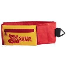 2016 NWT AIRBLASTER COBRA DOGS COLLAB LEG BAG $40 red/yellow adjustable