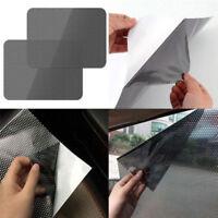 4Pcs UV Car Sunshade Electrostatic Stickers Car Supplies Sun Block Stickers DS