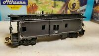 HO Athearn John Deere caboose for train set RTR , Moline, IL, black, rare