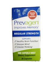 (New) Prevagen Regular Strength - Improves Memory/Brain, 30 Capsules Sealed