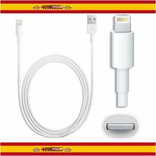 CABLE USB 8 PIN PARA IPHONE SE 5 5S 5C 6 6 Plus 6S 6S + CARGA Y DATOS LIGHTNING