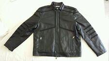 Calvin Klein AUTHENTIC Genuine Leather Jacket size XXL/TTG NWT $ 698.00