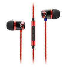 SoundMAGIC E10c in Ear Isolating Earphones With Microphone Black Red