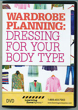 Wardrobe Planning: Dressing For Your Body Type DVD - by Learning ZoneXpress-New