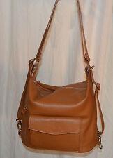 borse vera pelle bag made in italia genuine leather borsa zaino cuoio camel