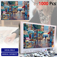 Romantic Town 1000 Piece Jigsaw Puzzle New For Adult Kids Learning Education Toy