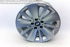 "BMW E65 E66 730d FL (2) 7 SERIES 18"" DOUBLE SPOKE 174 ALLOY WHEEL #4"