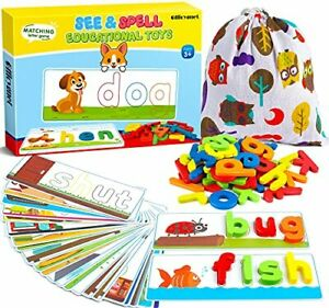 Learning Educational Toys and Gift for 3 4 5 6 Years Old Boys and Girls - See