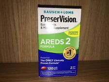 PreserVision Areds 2 120 Softgels Bausch + Lomb  Eye Vitamin & Mineral NEW MAY19
