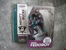 Mcfarlane Nhl Series 9 Sergei Fedorov Mighty Ducks figure Mint Rare