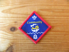 UK Scouting Scout Challenge Award (Community) Police