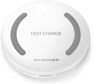 Wireless Charger RAVPower Qi-Certified Fast Wireless Charging Pad, 10W Fast Char