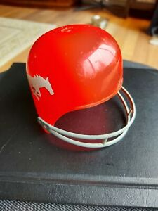 "Vtg Diary Queen Laich CFL Calgary Stampeders Football Helmet 4"" 1970s"