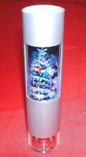 100 x Picture Frame Tube Plastic Silver/Clear Photo Pen Pencil Holder NIB