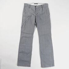 Damenhosen im Chino-Stil aus Baumwolle mit weitem Bein