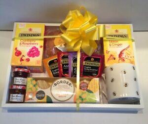 Luxury Afternoon Tea Gift Tray Hamper Gift Idea Birthday Thank You Friend