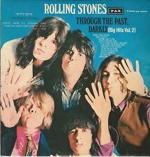 LP ROLLING STONES:THROUGH THE PAST, BIG HITS VOL.2 (ED.PAX) NUOVO NON SIGILLATO