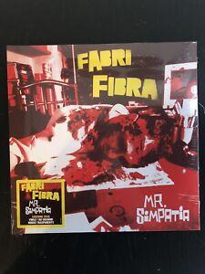 FABRI FIBRA - MR. SIMPATIA - 2LP VINILE ROSSO NUOVO SIGILLATO