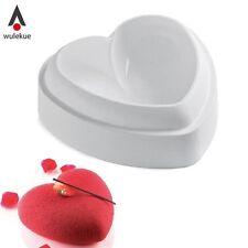 1pcs Non-Stick Silicone Love Cuore Forma Stampo per torta AMORE Cottura Pasticceria Stampi Cho