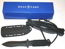Aqualung Argonaut Tauchermesser/Knife komplett aus Titan, robust + leicht /spitz