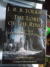 Lord of the Rings Fellowship of the Ring Part 1 by J.R.R Tolkien 14xCassette