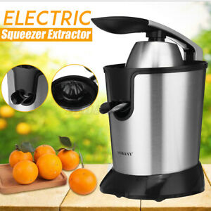 350W Electric Squeezer Extractor Machine Citrus Juicer Fruit Press Orange 220V