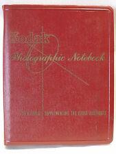 Vintage Kodak Photographic Notebook The Kodak Reference Handbooks 1964-66