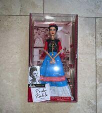 Mattel Frida Kahlo Barbie Doll ~ Inspiring Women Series ~ 2018 Limited Edition