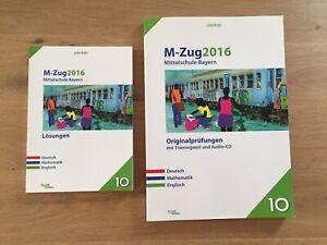 Zwei Bücher Originalprüfungen und Lösungen M-Zug 2016 gebraucht Pauker Verlag
