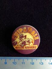 Made in USSR Pin button CHIP AND DALE DISNEY badge Russia.Original Very Rare !!!